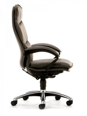 Freeflex Executive chair finished in leather