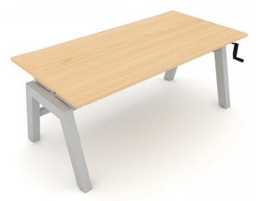 Elevate height adjustable individual desk