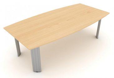 Kassini barrel shaped meeting table
