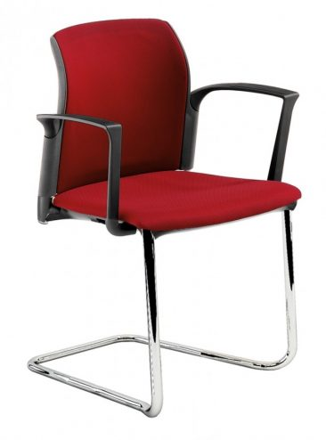Leola cantilever armchair fully upholstered