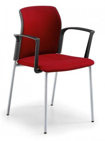 Leola four leg armchair fully upholstered