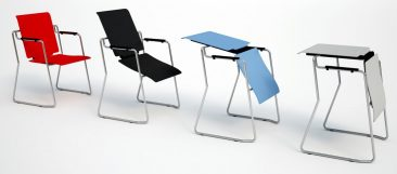 Switch chair to table