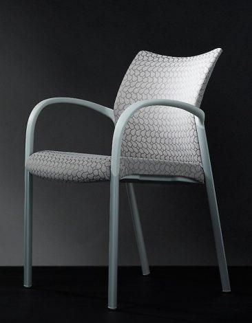 Trillipse four leg armchair fully upholstered