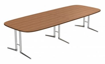 Ad Lib two piece large soft rectangle table