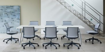 Ad Lib office chairs with arms