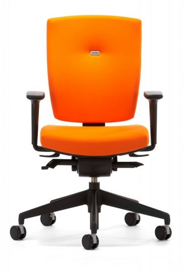 Sprint office chair with height and width adjustable arms