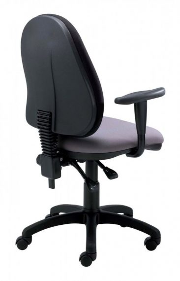 Team office chair with height adjustable arms