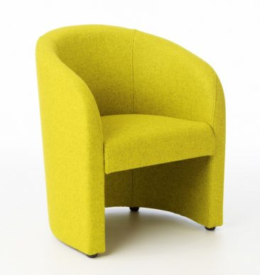 Carlo armchair in fabric upholstery