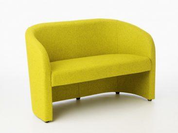 Carlo sofa in fabric upholstery