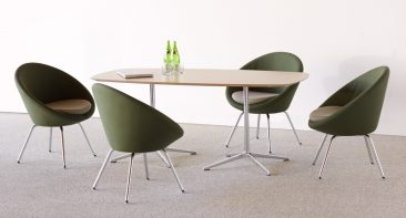 Conic meeting chairs