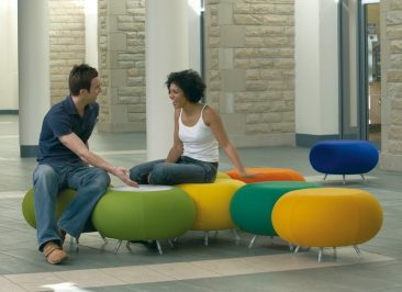 Pebble stools