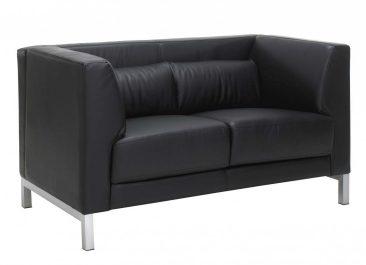 Rimini sofa in leather upholstery